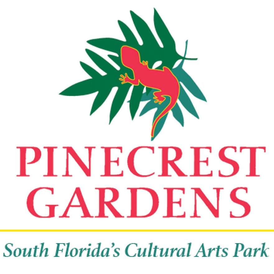Pinecrest Gardens Logo Vertical