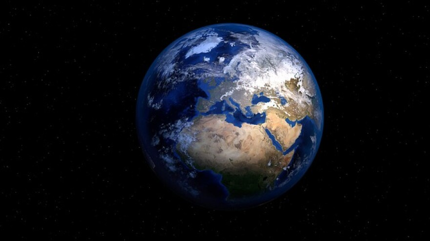 Picture of Earth.
