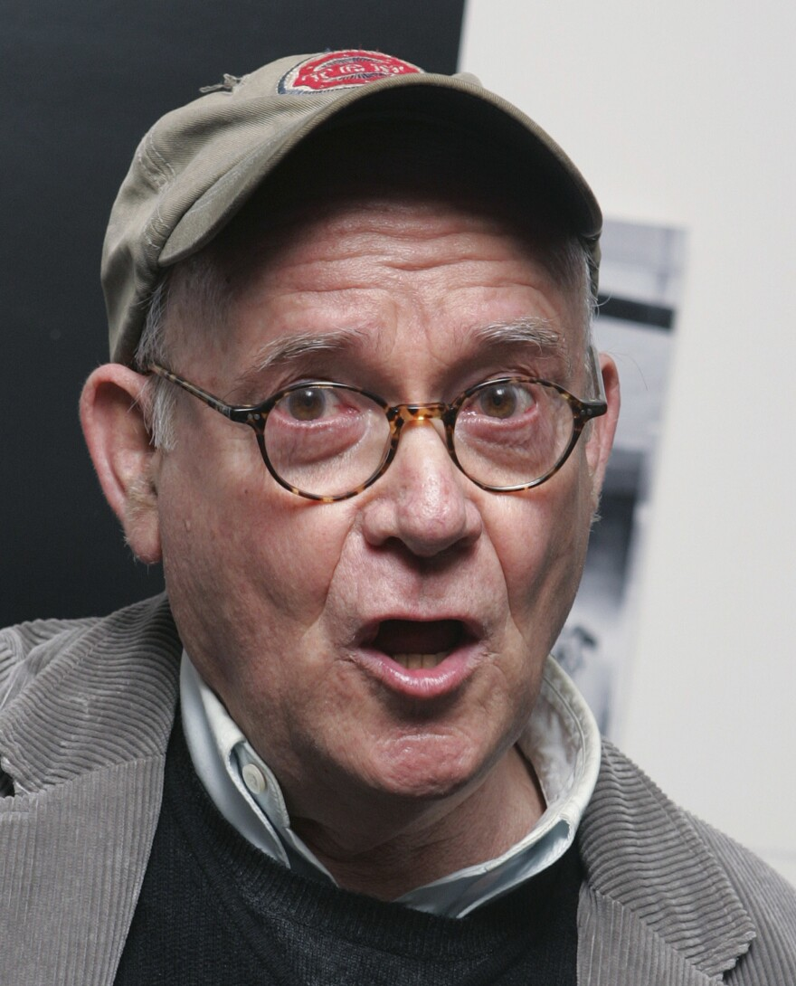 Sceenwriter and actor Buck Henry won an Emmy in 1967 for the comedy series <em>Get Smart,</em> which he co-created with Mel Brooks<em>.</em> Henry is pictured above in New York in 2006.