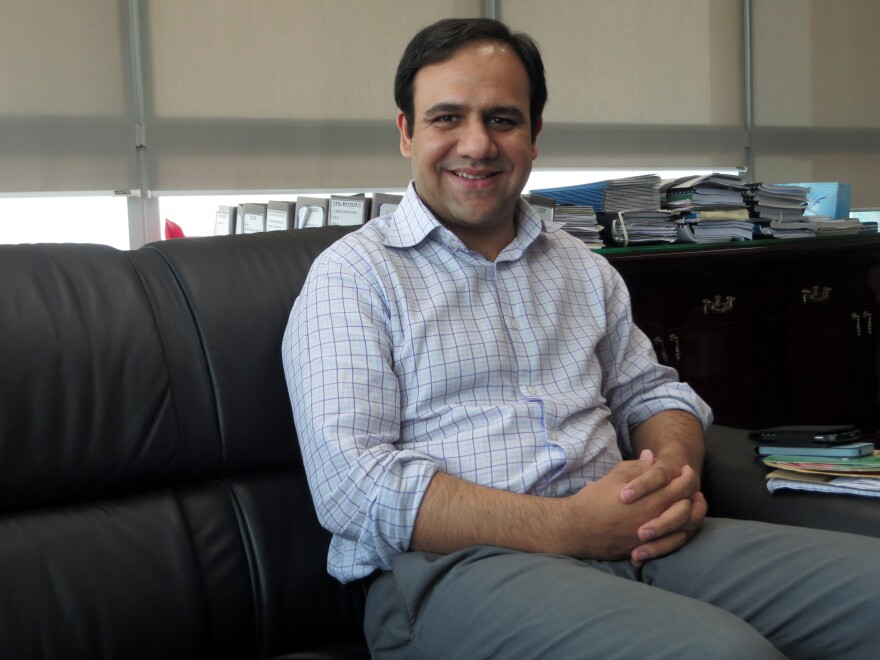 Computer scientist Umar Saif created a smartphone app to monitor Lahore's anti-dengue activities and to track cases throughout the city.