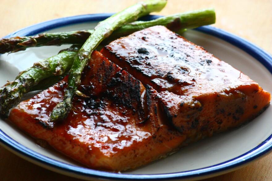 Sous Vide Miso-Ginger Salmon