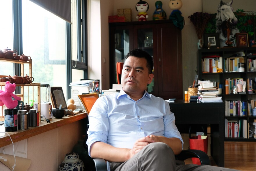 """Social entrepreneur Deng Fei, 39, who keeps an office in the Chinese city of Hangzhou, had been a prominent member of the """"Hunan gang"""" of investigative reporters, documenting social problems, human rights abuses and official corruption in China."""