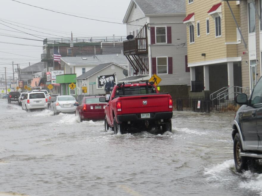 Inland parts of Northern New England expect people to migrate from coastal towns like Hampton, New Hampshire, where high-tide flooding is increasing due to rising seas.