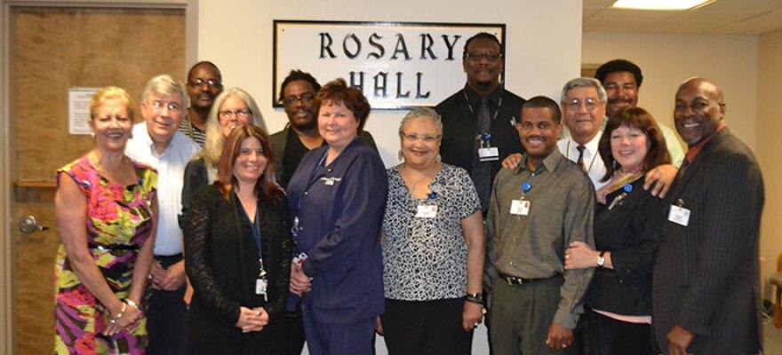 photo of Rosary Hall staff