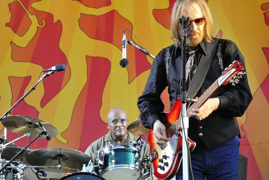 Tom Petty & The Heartbreakers are pictured at the New Orleans Jazz & Heritage Festival in 2012.