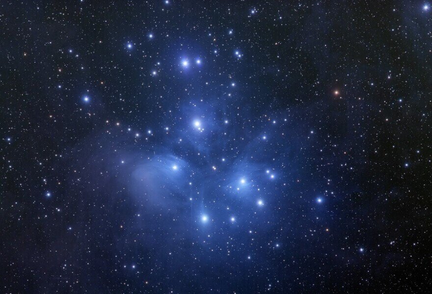 The constellation Pleiades is recognized in many cultures, and its appearance in Northern skies in the fall has made it a signal for harvest festivals.