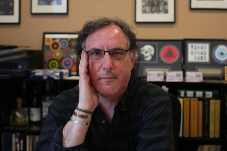 Euclid Records owner Joe Schwab, 2015