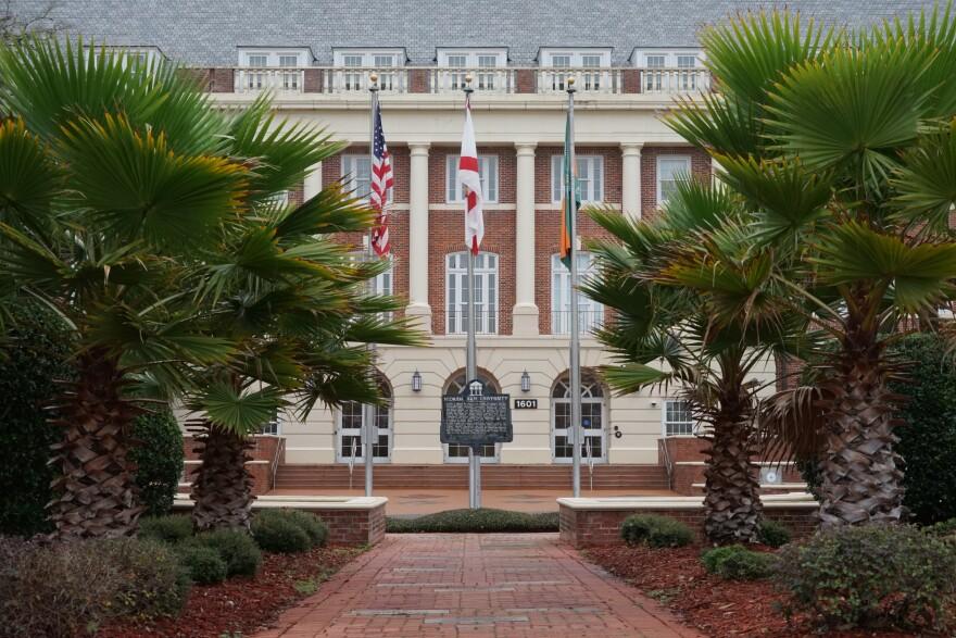 Shot of FAMU's campus.