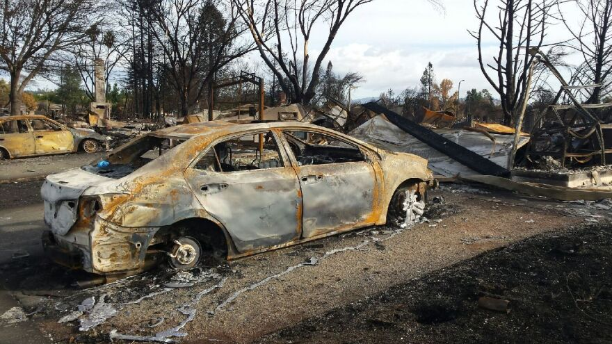 Not long after last year's fire tore through Danielle Bryant's neighborhood in Santa Rosa, Calif., she returned to find her home destroyed and her car a ruined shell.