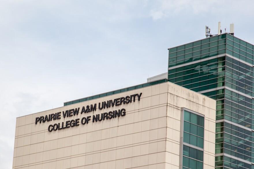 Praire View College of Nursing building