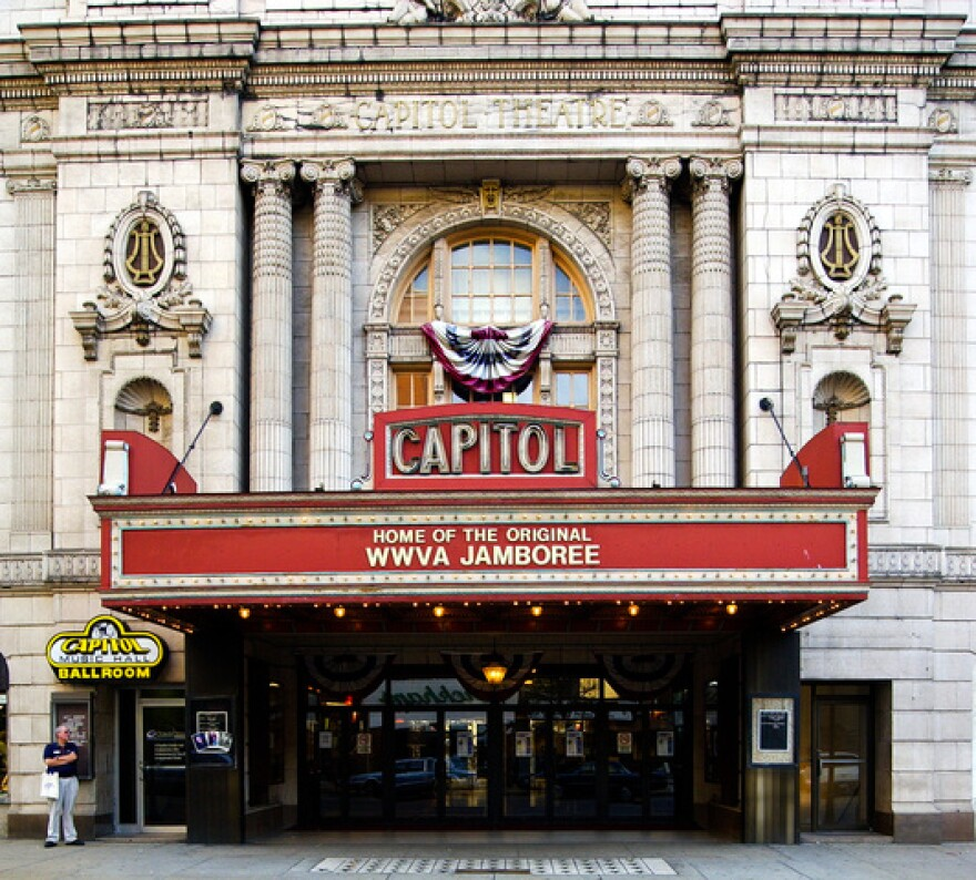 Capitol Music Hall in Wheeling