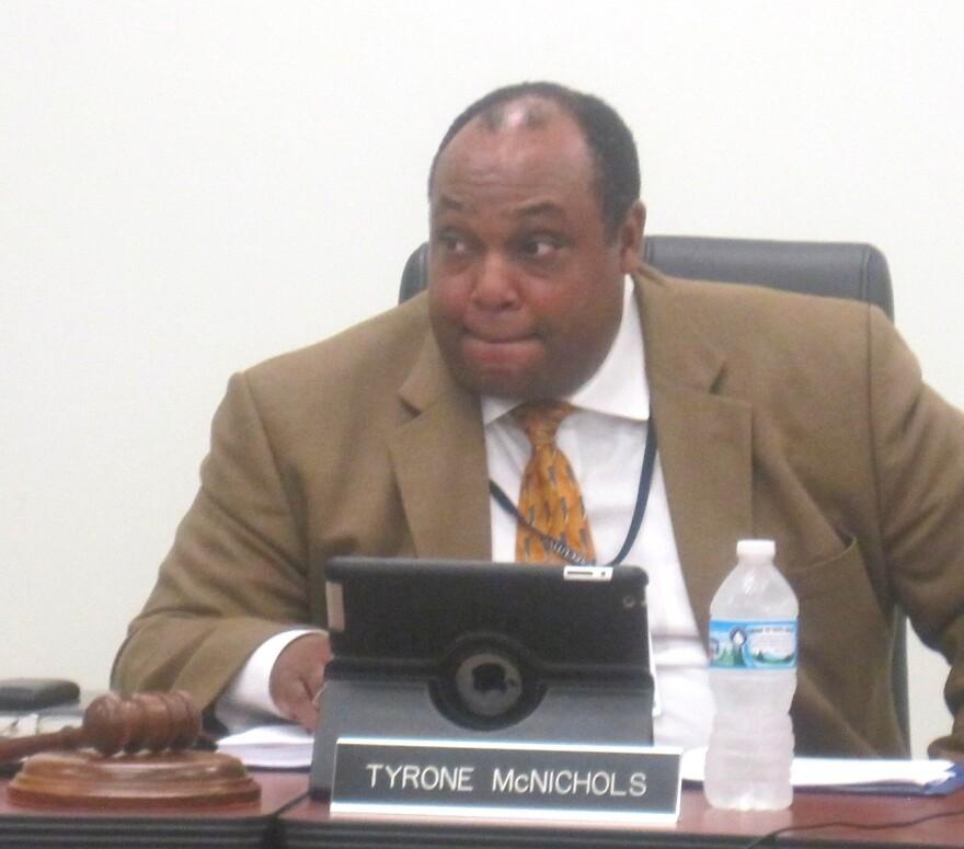 Normandy superintendent Ty McNichols