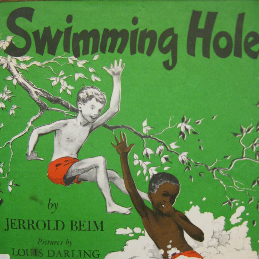 Swimming Hole by Jerrold Beim, published in 1950.