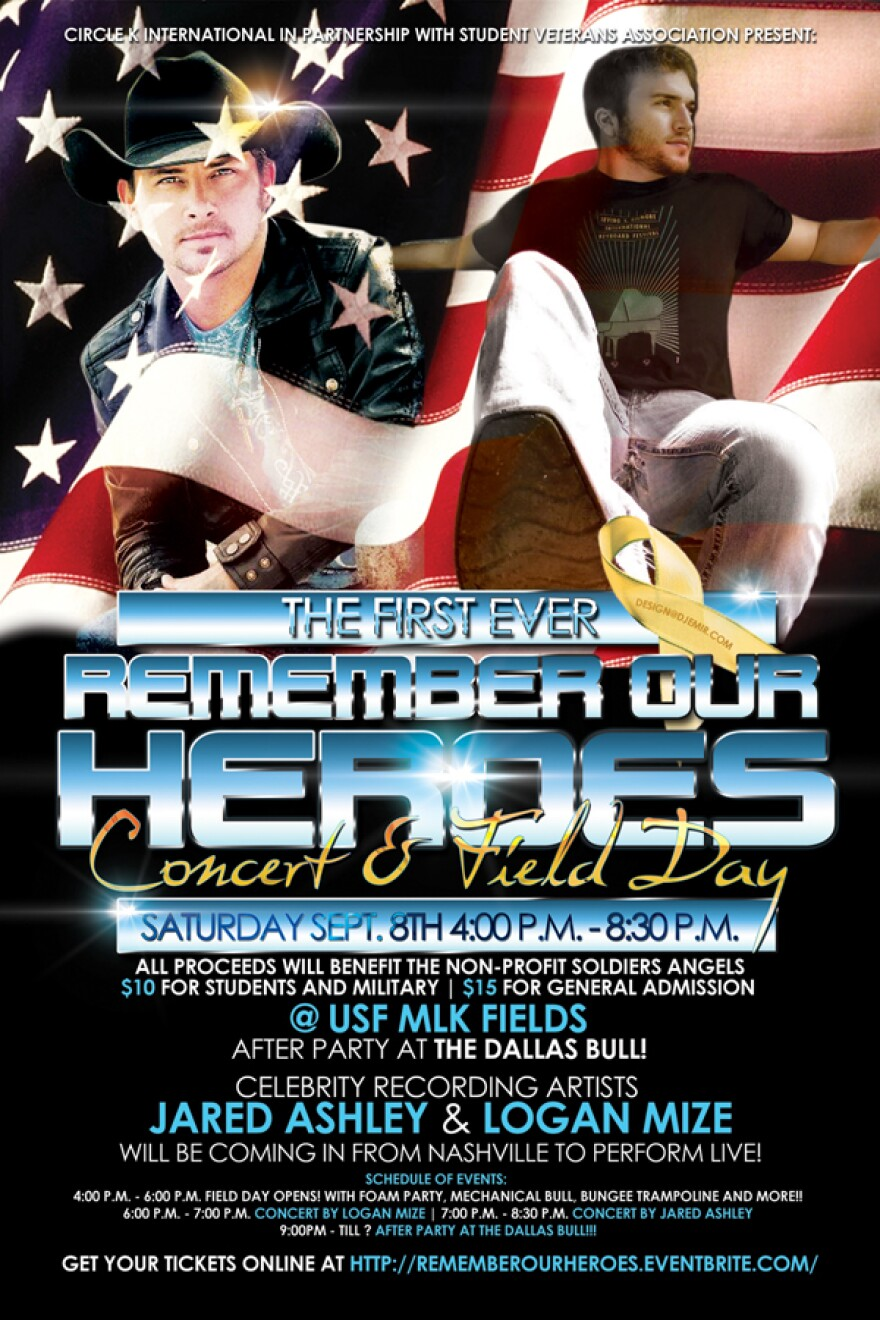 9-7 Military Heroes flyer