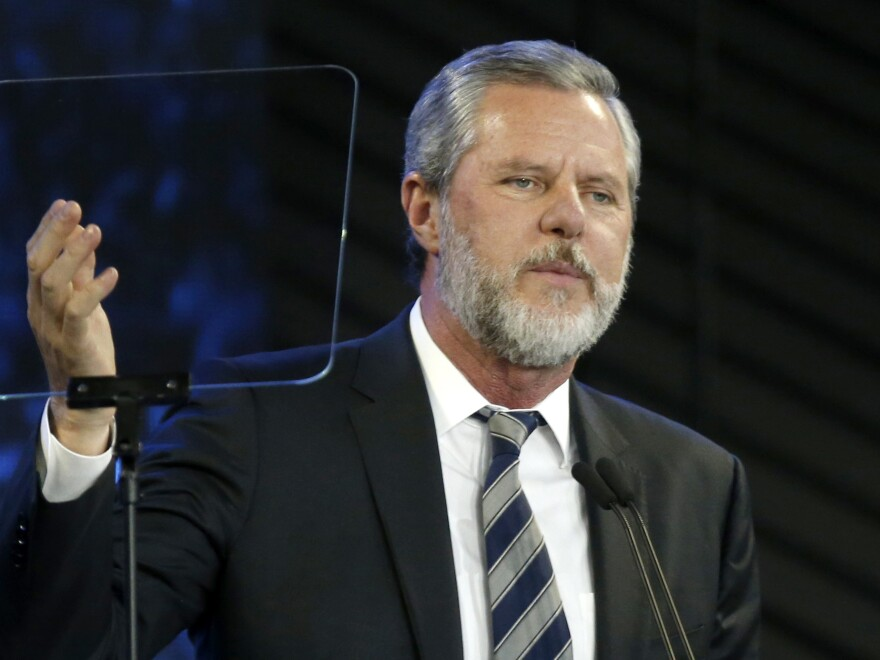 Jerry Falwell Jr. has told NPR that he has accomplished all he had hoped to do at Liberty University.