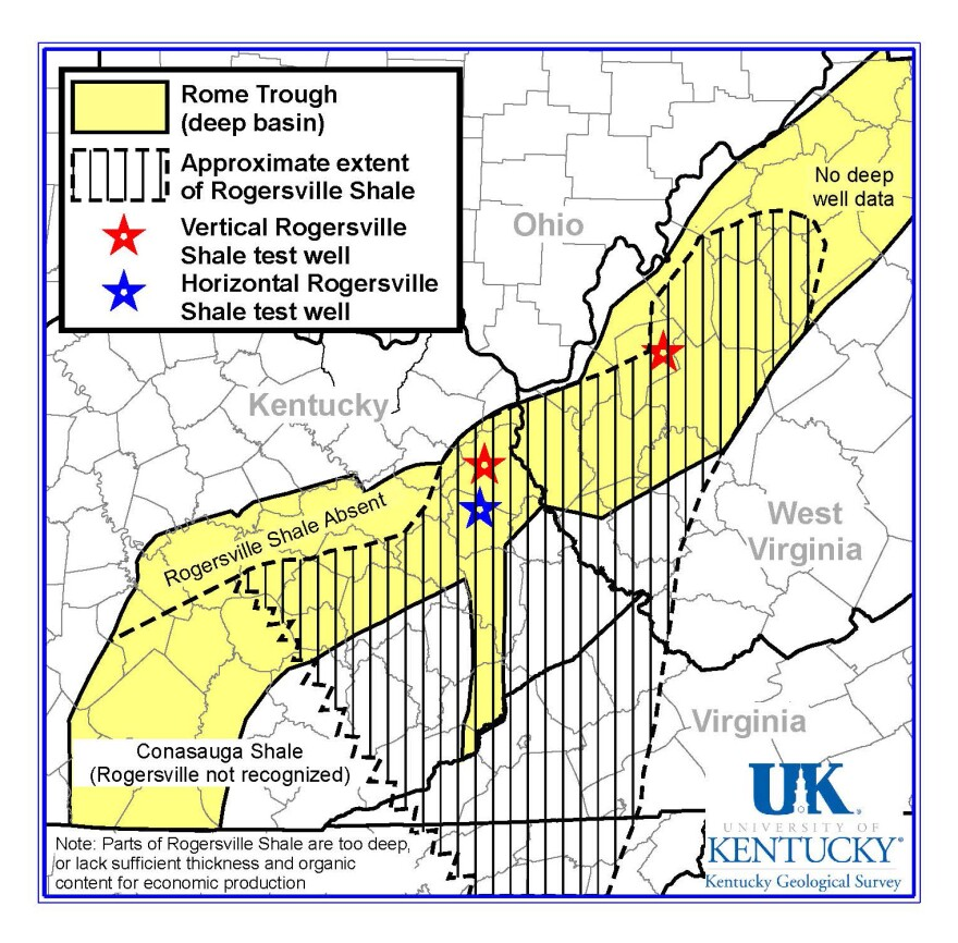 State Approves Rogersville Shale Test Well In Putnam County Wvpb