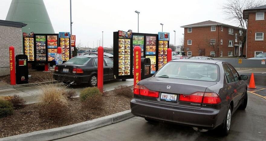 A McDonald's drive-thru. (Tim Boyle/Getty Images)