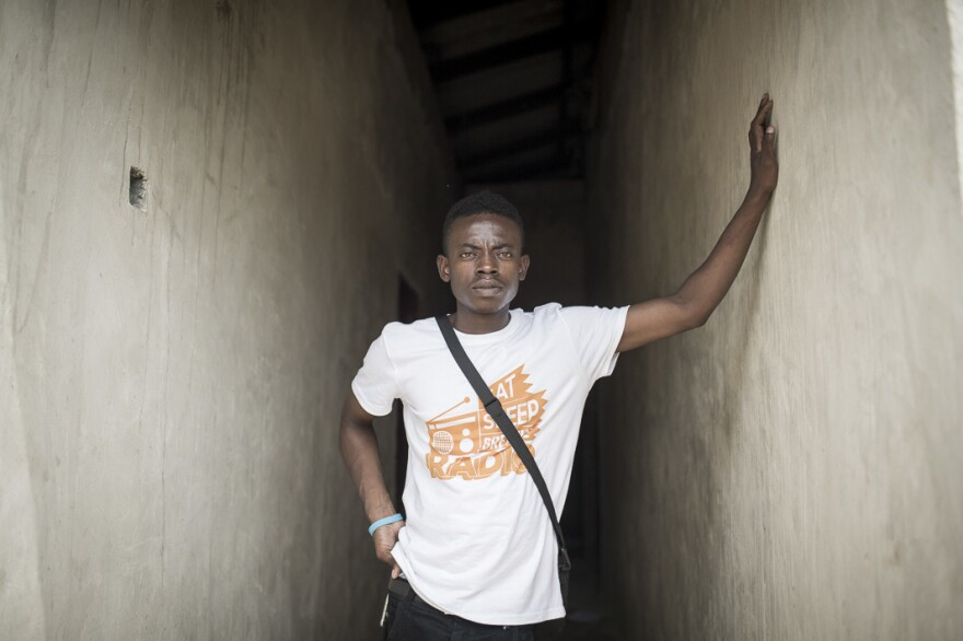 Cleopas Kapembwa Chisanga of Zambia, who is HIV positive, is the subject of a new video and will be broadcasting from this week's International AIDS Conference in Durban, South Africa.