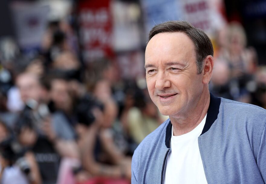 """Kevin Spacey attends the European premiere of Sony Pictures """"Baby Driver"""" on June 21, 2017 in London, England. (Tim P. Whitby/Getty Images for Sony Pictures )"""