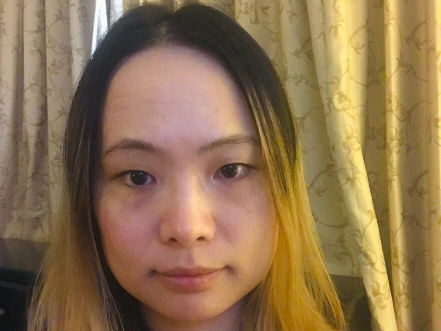 Ningxi Xu is investment manager in Jersey City. She is under quarantine for two weeks in California after returning from Wuhan, China.