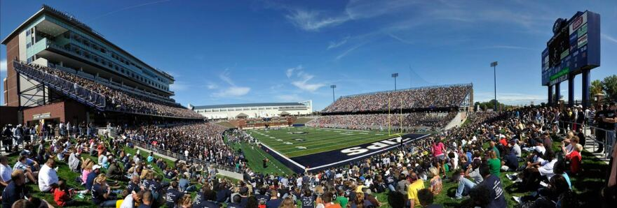 Picture of Akron Zips Football game.