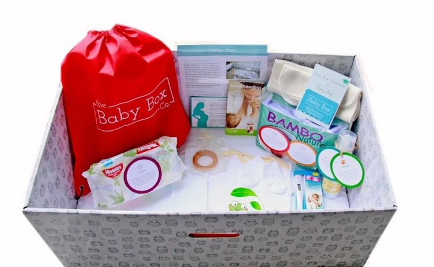 An example of a Baby Box