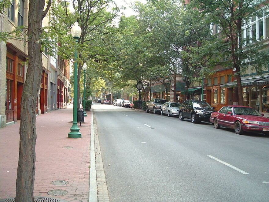 Downtown Charleston, W.Va.