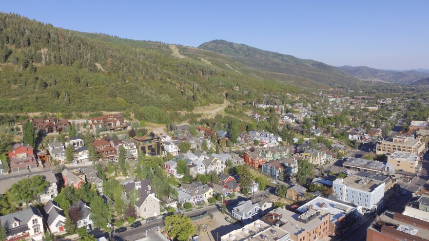 Photo of houses in Park City