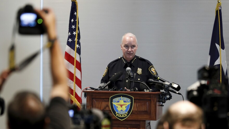 At a news conference on Tuesday regarding the death of Atatiana Jefferson, Fort Worth interim Police Chief Ed Kraus apologized to Jefferson's family and said the officer who shot her will be held responsible for his actions.