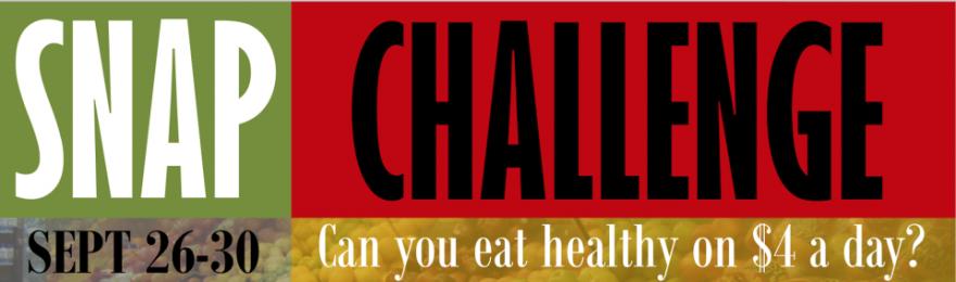 The Arkansas Hunger Relief Alliance is sponsoring the SNAP Challenge September 26-30.