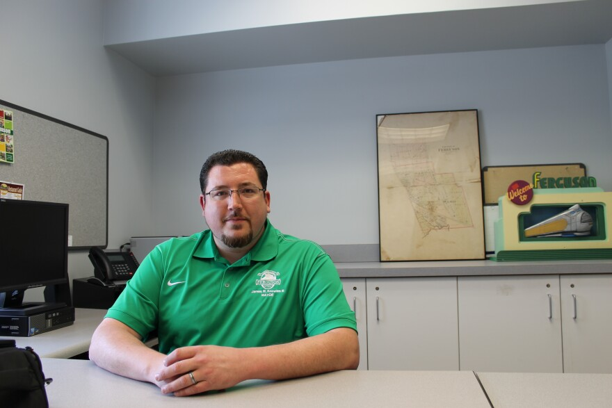 Ferguson Mayor James Knowles III is one of the few north St. Louis County elected officials who is active in Republican politics. Before Michael Brown's shooting death, he pitched the idea of making county offices in a merged St. Louis and St. Louis Count