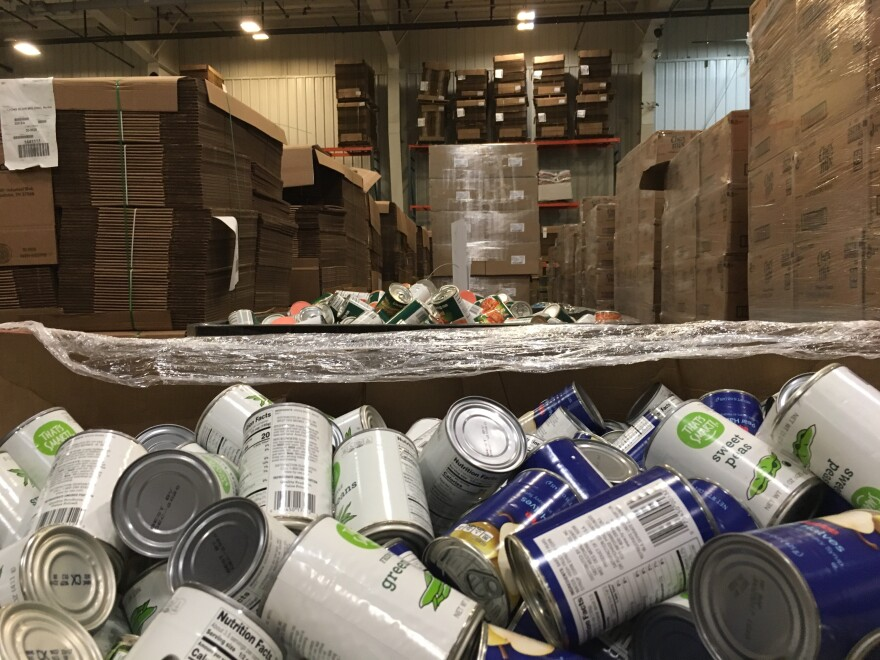 Food banks stand to benefit from the USDA's trade relief program.