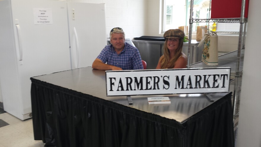 Pam Bowsheir and Mike Runyan run Champaign Locally Grown.