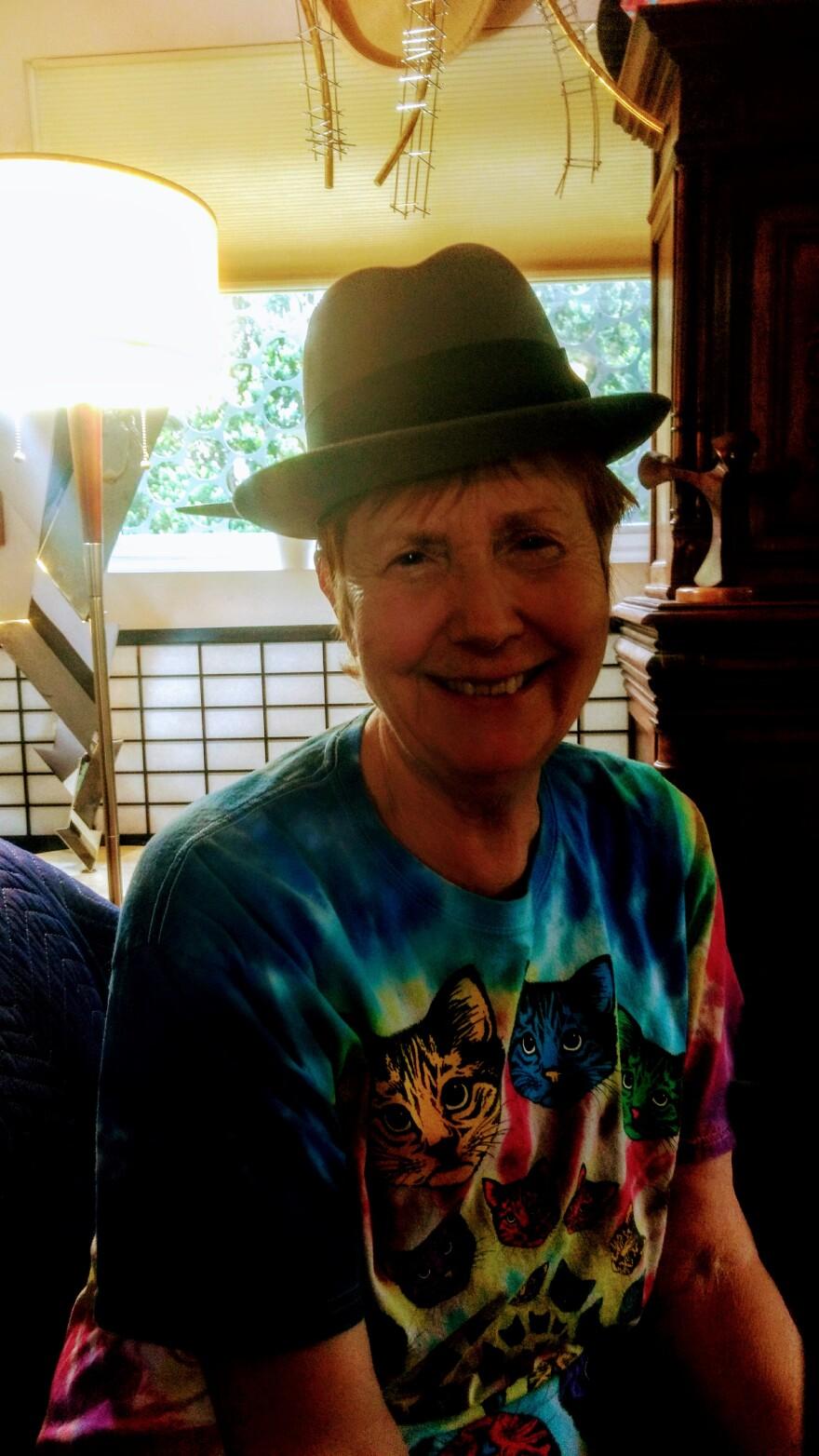 Debbie Henderson has written four books about men's hats.