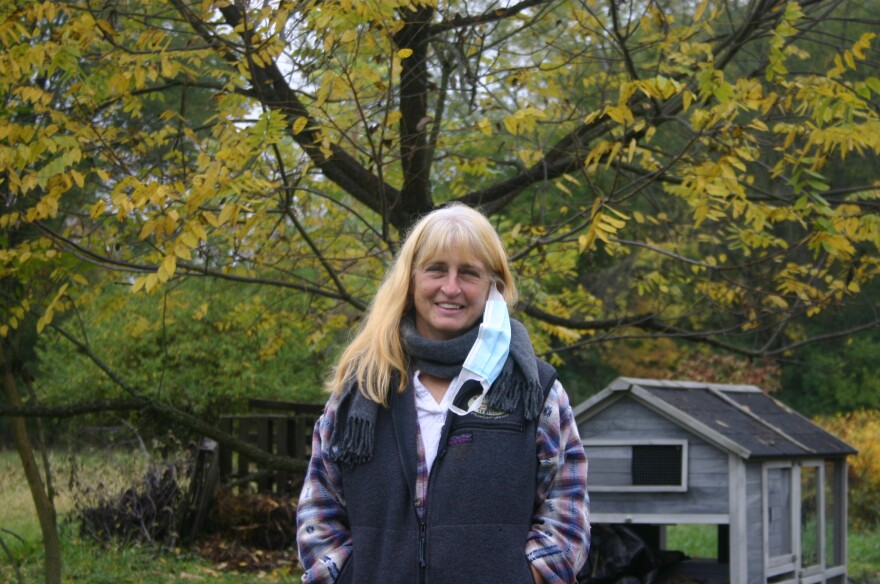 Springfield Ohio Urban Plantfolk Coordinator Sherry Chen at the non-profit's farm in South Springfield.