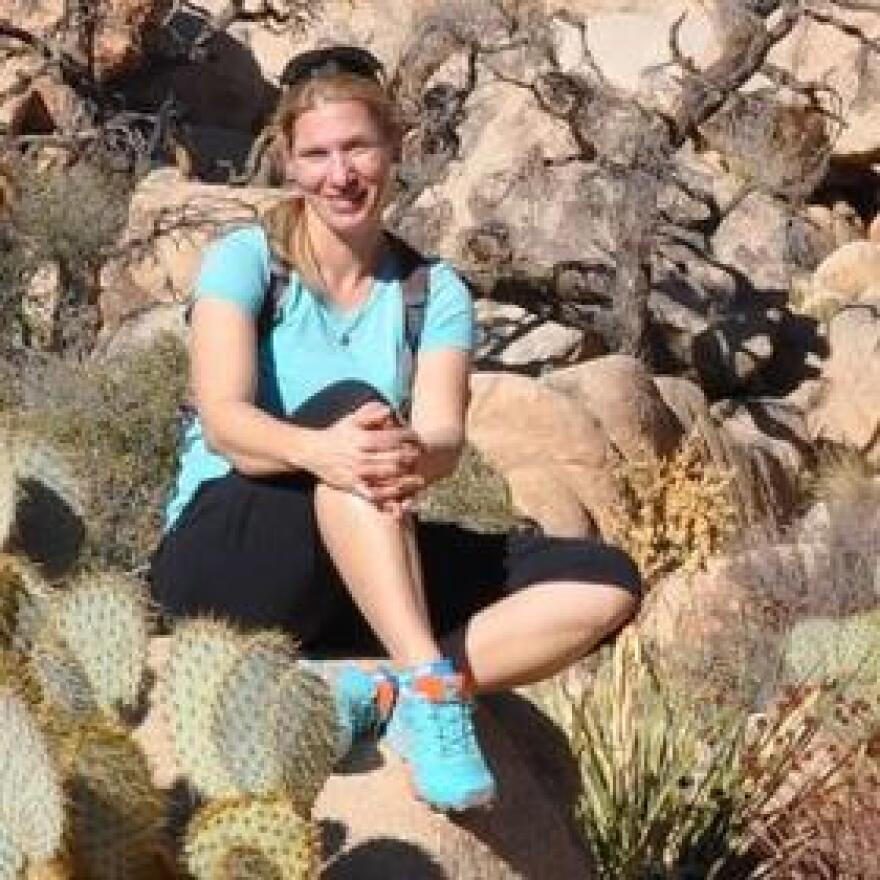 Sabrina Helm, researcher at the University of Arizona