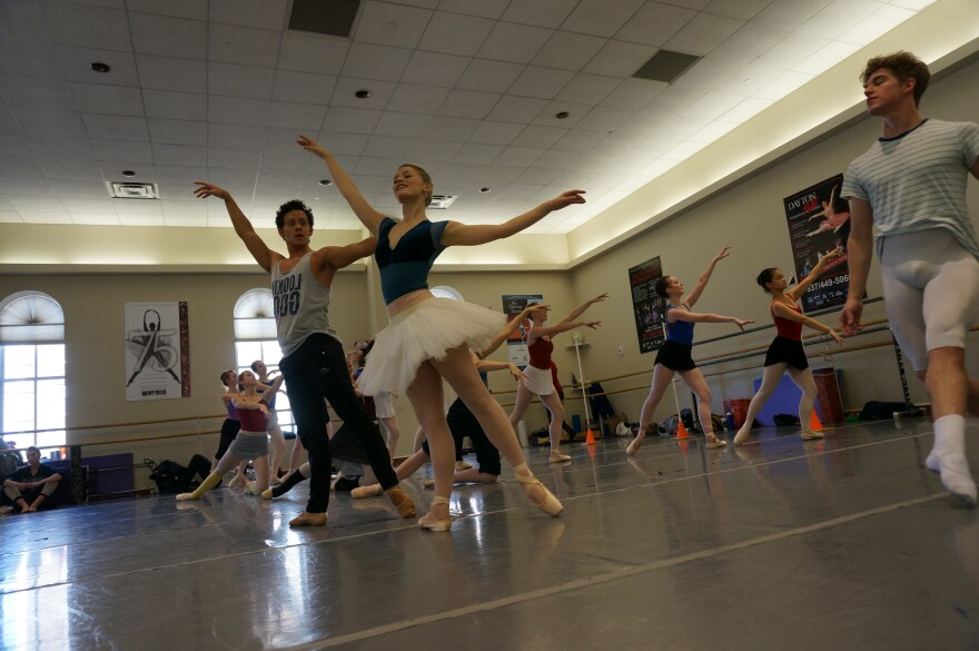 The Dayton Ballet prepares for its 2015 production of The Nutcracker.