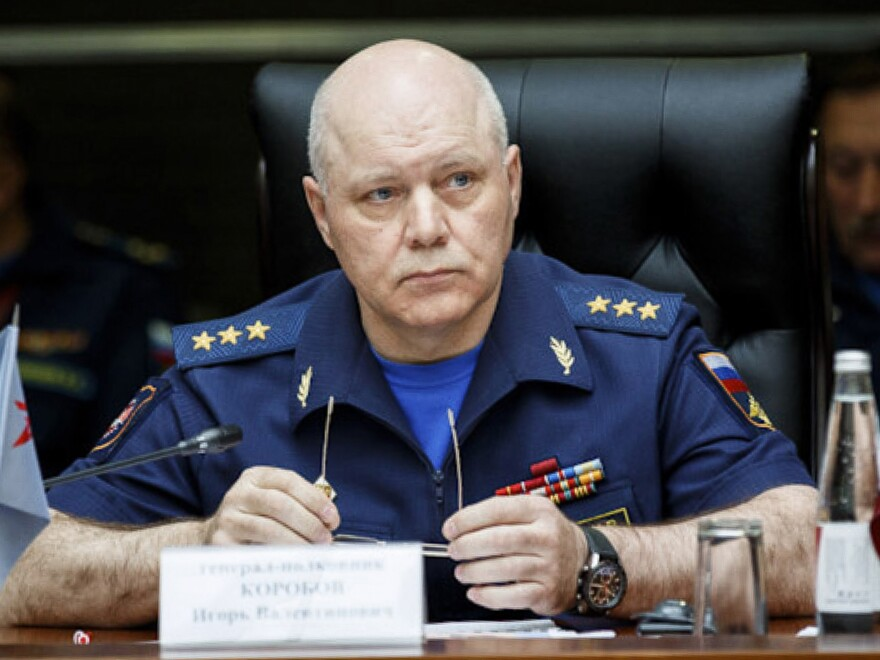 The head of Russian military intelligence, Igor Korobov, died after his agency was accused of activities against the U.S.