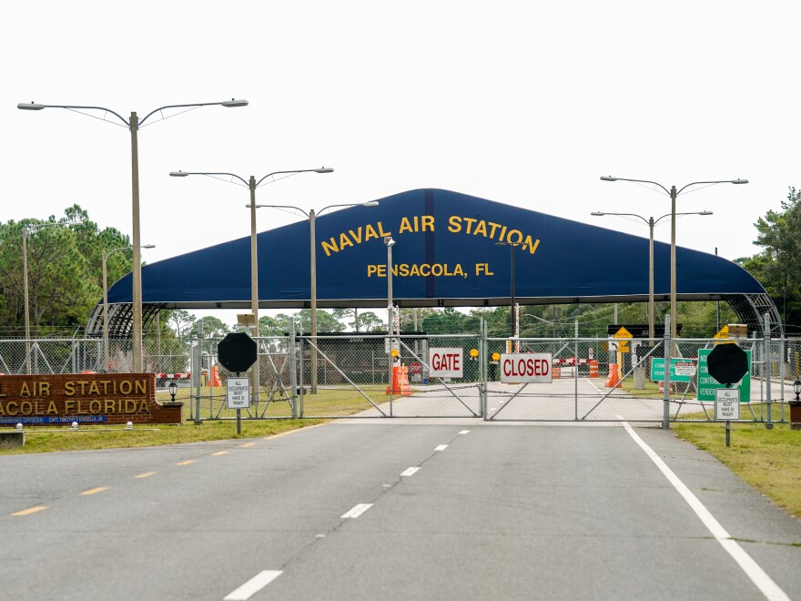 Three sailors were killed and eight injured in a shooting at the Pensacola Naval Air Station on Friday in Florida. The FBI is investigating the attack as an act of terrorism.