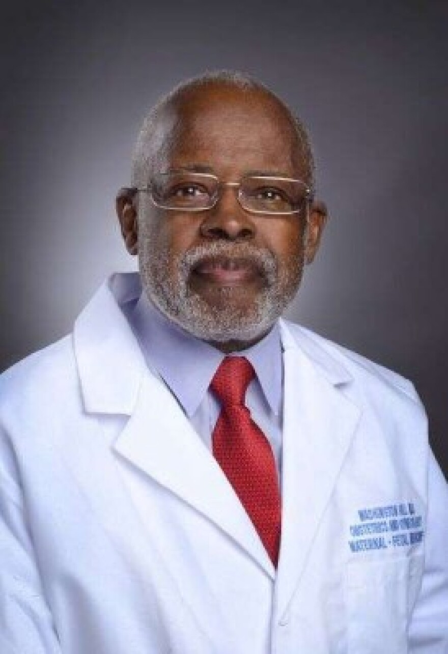 Dr. Washington Hill helped found the high-risk pregnancy program for Sarasota County.