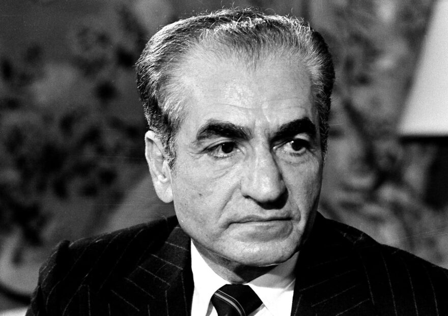 In this Nov. 15, 1977 photo, Shah Mohammad Reza Pahlavi of Iran visits Washington. (AP)