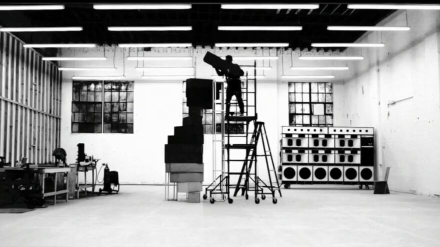 A still from Frank Ocean's <em>Endless</em> visual album.
