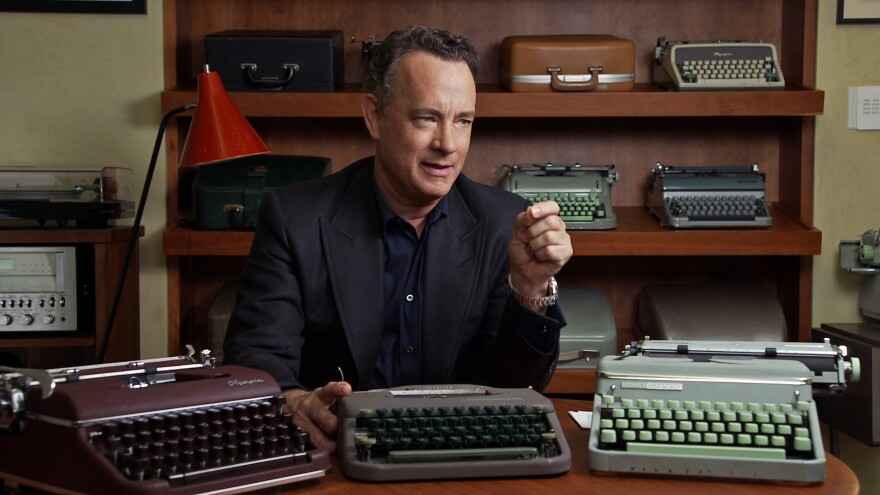 Tom Hanks, one of the interviewees featured in <em>California Typewriter</em>, has over 250 typewriters in his personal collection.