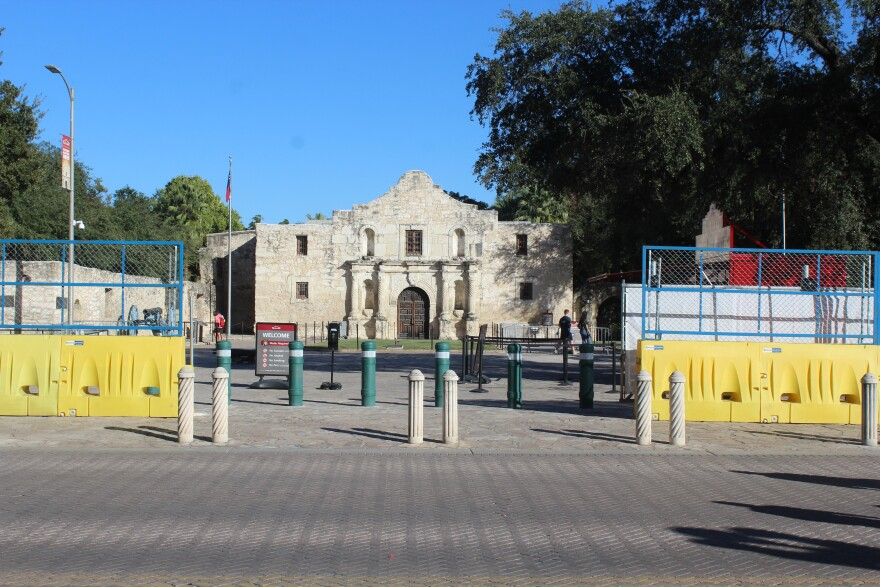 The Alamo just before Election Day