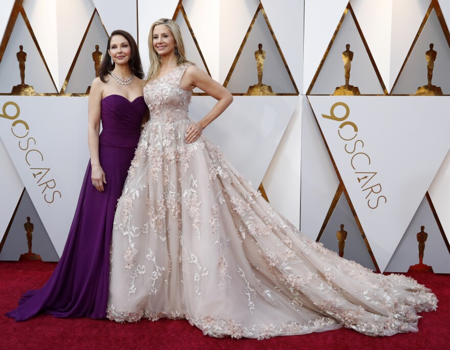 Ashley Judd (left) and Mira Sorvino