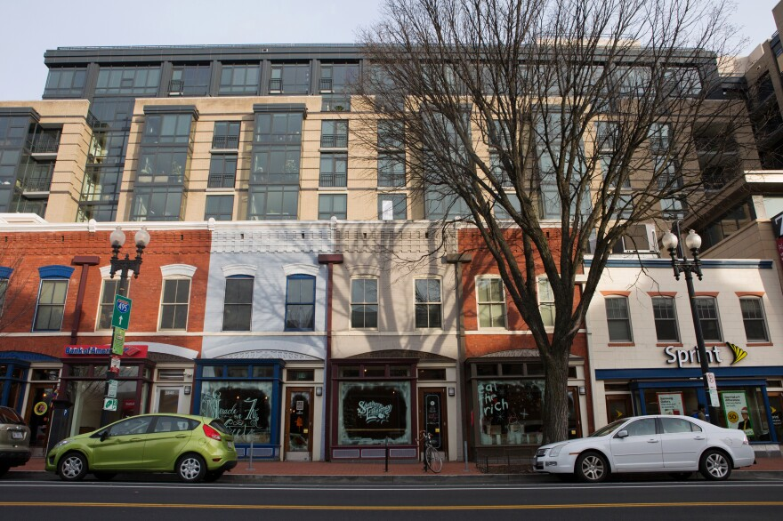 A strip of new businesses has opened in Shaw in recent years.