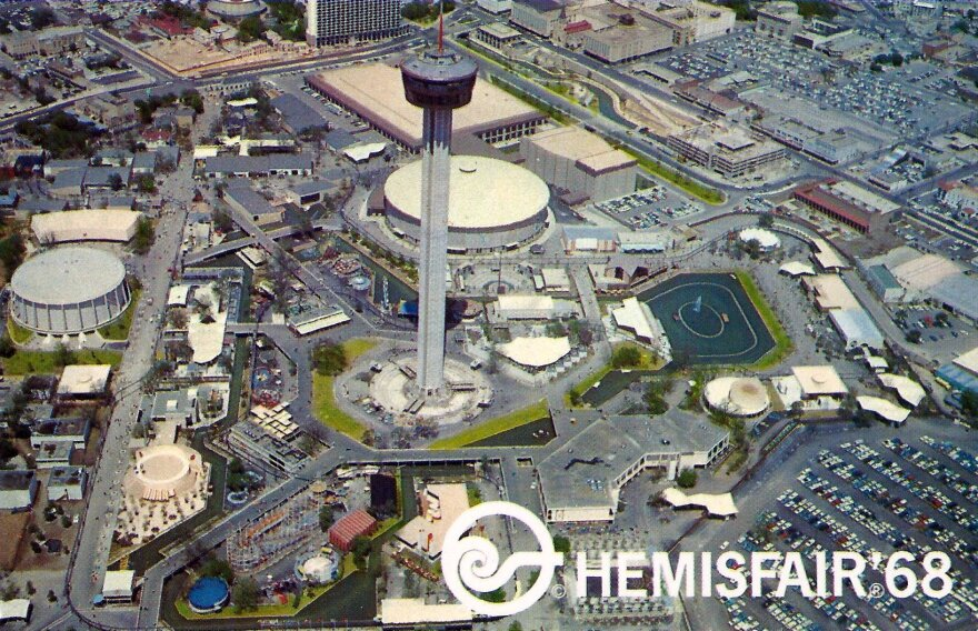 HemisFair '68 was held April 6 to Oct. 6, 1968. The theme of the fair was the confluence of civilization in the Americas. Flickr Creative Commons | http://bit.ly/2IHGmF0