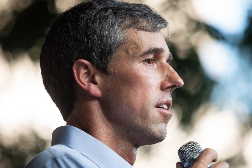 Former presidential candidate Beto O'Rourke is now working to elect Democrats to the the Texas House.
