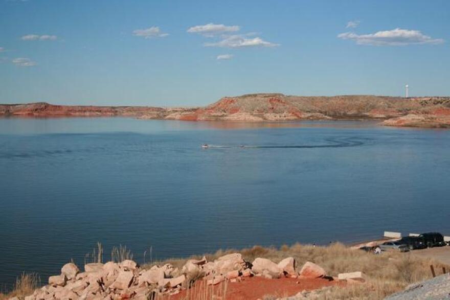 Lake Meredith National Recreation Area.