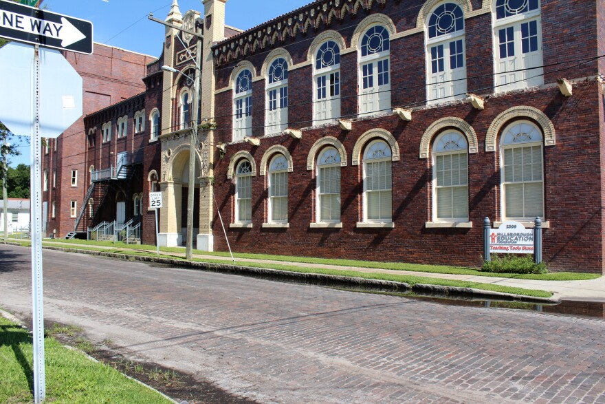 The Hillsborough Education Foundation building will have restored exterior windows.